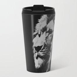 Lion king black and white Travel Mug