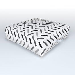 Wonky Rectangles Outdoor Floor Cushion