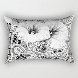 Bindweed Pattern Rectangular Pillow
