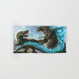 Godzilla VS. Atomic Rex Hand & Bath Towel