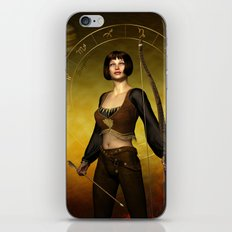 Sagittarius Zodiac Fantasy iPhone & iPod Skin