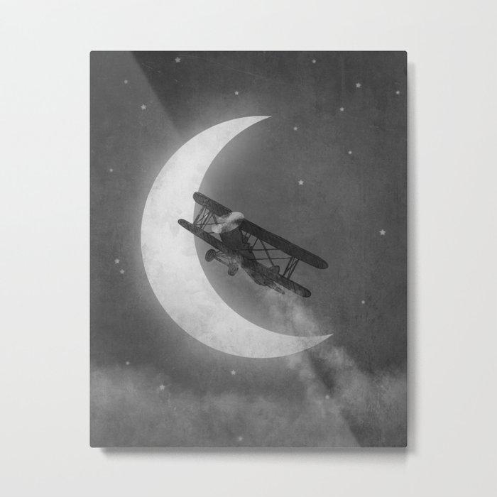 Night Flight  Metal Print