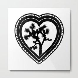 Heart of the Hi-Desert™ Joshua Tree by CREYES Metal Print