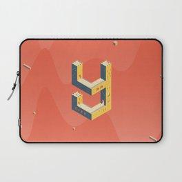 castle in the 'Y' Laptop Sleeve