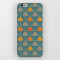 camping iPhone & iPod Skins featuring Camping by Mimi