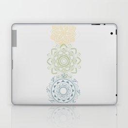 Chakra mandalas Laptop & iPad Skin