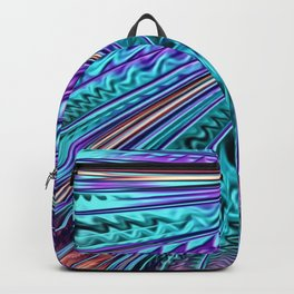 Jewel Rainbow Fractal Art Backpack