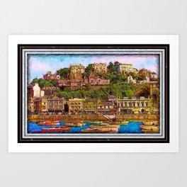 Torquay Devon Art Print