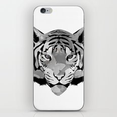 Tiger B&W iPhone & iPod Skin