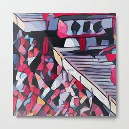 Abstract 100 #2 Metal Print