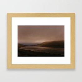 Faroese Lake Framed Art Print