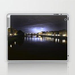 Lightning Storm over Florence Laptop & iPad Skin