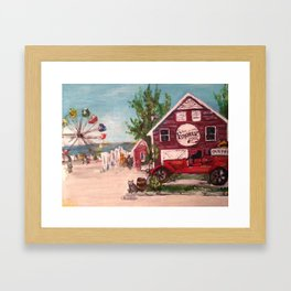 Geneva-On-The-Lake, Ohio Framed Art Print