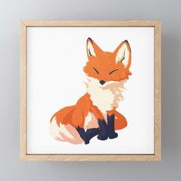 Foxy Rocksy Framed Mini Art Print