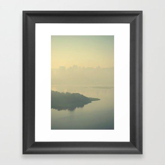Powai Lake Framed Art Print