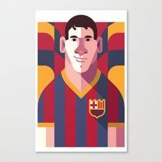 LM10 | Blaugrana Canvas Print