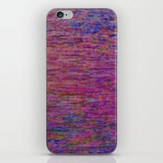 23-02-45 (Pink Lady Glitch) iPhone & iPod Skin