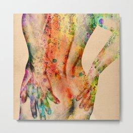male nude art 1 Metal Print