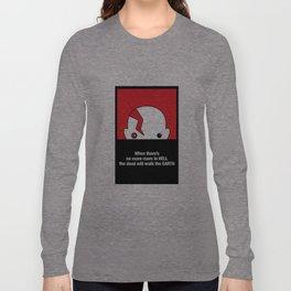 Cute Dawn of the Dead Poster Long Sleeve T-shirt