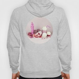 Sweet pink doom - still life Hoody