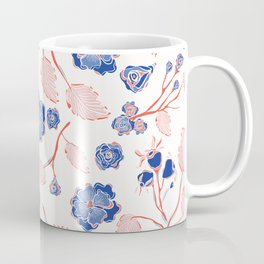 Trendy Indian Lace Floral Coffee Mug