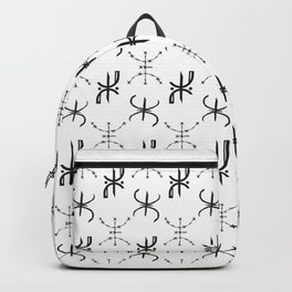 Moroccan Berber PATTERN, Amazigh, Tifinagh letter Backpack
