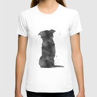 border collie T-shirts featuring Border Collie by Carma Zoe