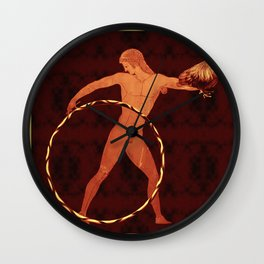 Ganymede Hoops Wall Clock