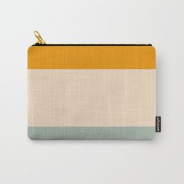 Heracles - Minimal Summer Retro Stripes Carry-All Pouch