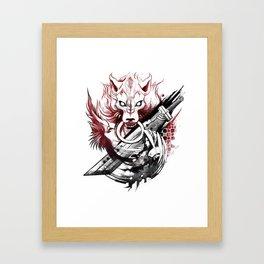 Amano Homage Framed Art Print