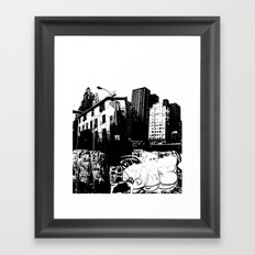 GRIND Framed Art Print