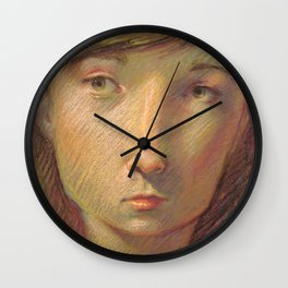"""Stylized"" Wall Clock"
