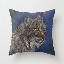 The Lynx Throw Pillow