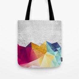 Polygons on Concrete Tote Bag