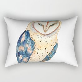 The colourful barn owl Rectangular Pillow