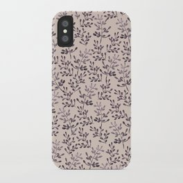 Ramitas violet iPhone Case