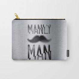 Manly man Carry-All Pouch