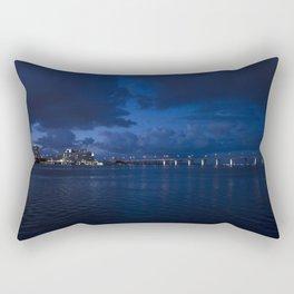 Moody Blues Rectangular Pillow