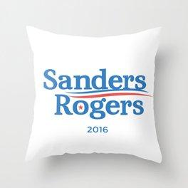 SANDERS ROGERS 2016 Throw Pillow