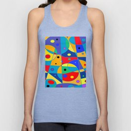Abstract #69 Unisex Tank Top