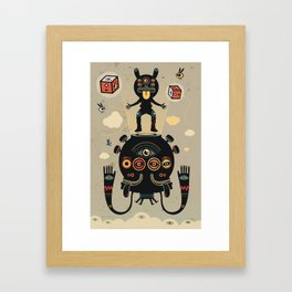 Monstertrap Framed Art Print