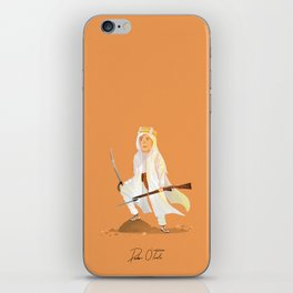 Peter O'Toole - Lawrence of Arabia iPhone Skin