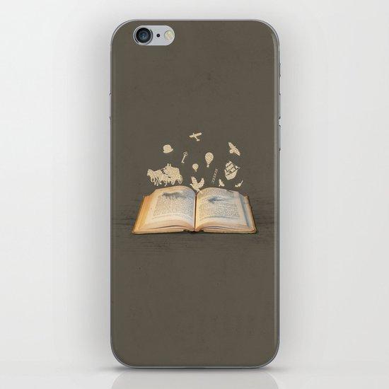 Words Take Flight (on Grey) iPhone & iPod Skin