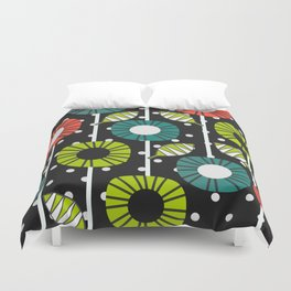 Night bloomers Duvet Cover