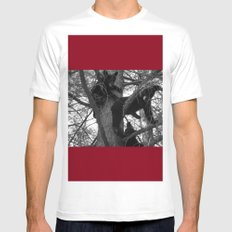 Berry Beary MEDIUM White Mens Fitted Tee