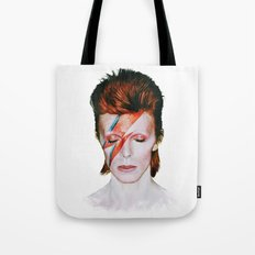 Bowie Tribute Tote Bag