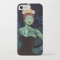 marina and the diamonds iPhone & iPod Cases featuring Marina by Gina Angelina Tolentino