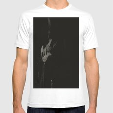 The Guitar White MEDIUM Mens Fitted Tee