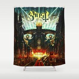 ghost bc meliora 2021 Shower Curtain