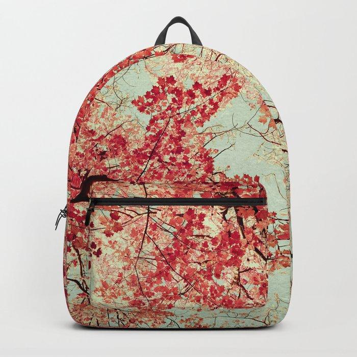 Autumn Inkblot Backpack
